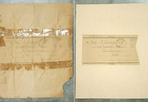 Document Back - before & after