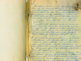 Journal before treatment