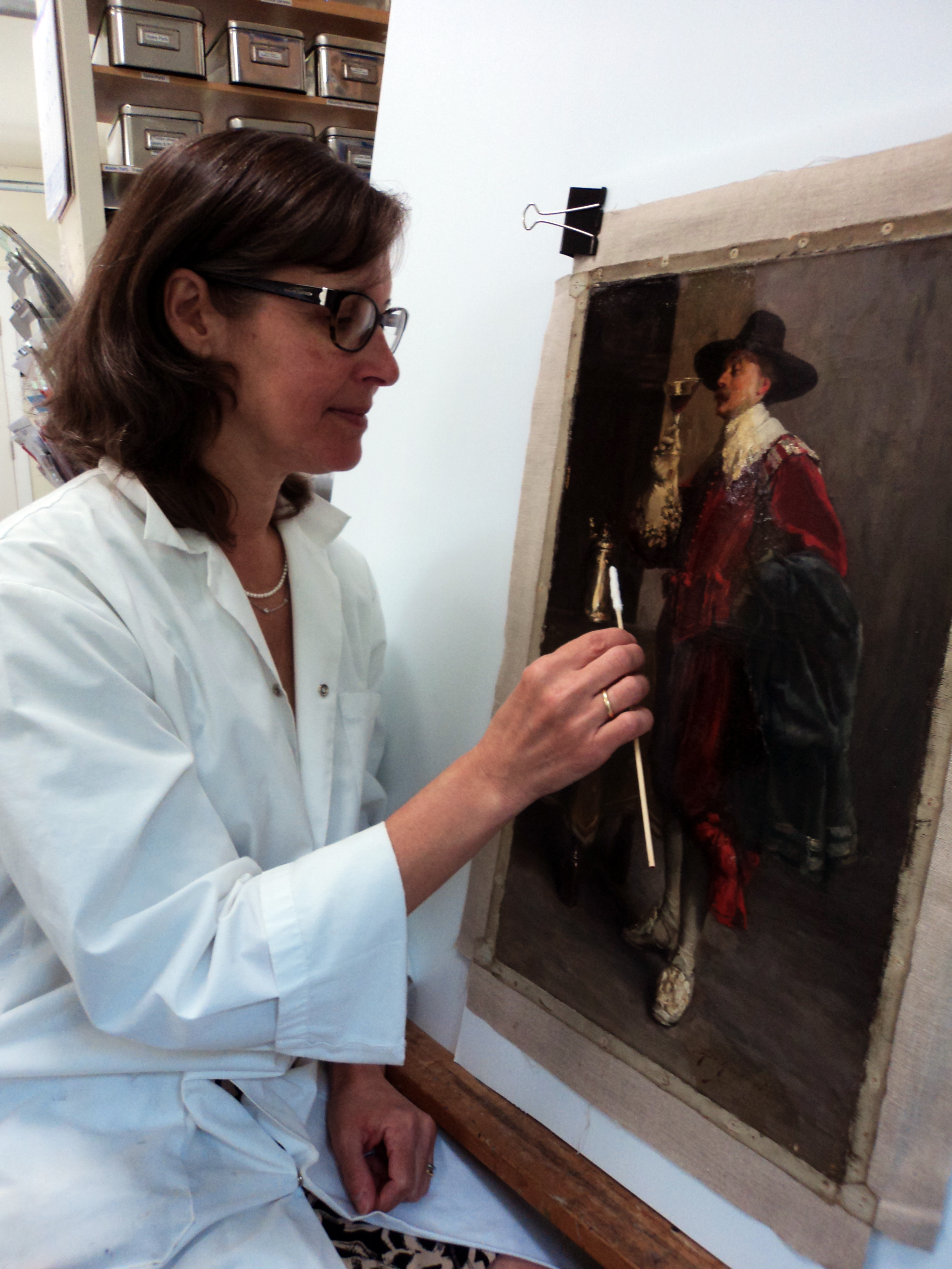 Paintings Conservation Intern, Maryse Bonaldo